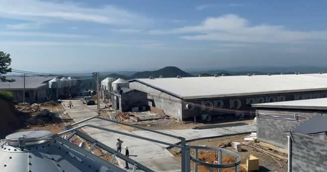 湖南永兴县57600头生猪养殖基地