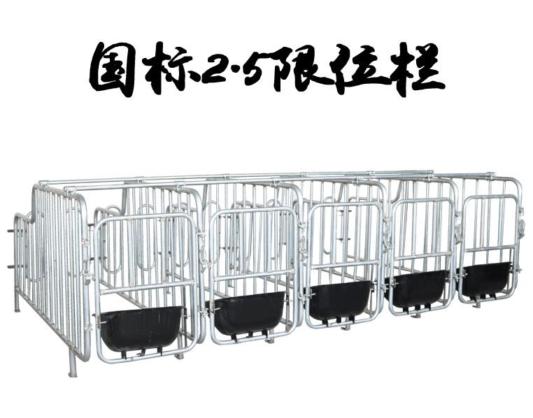 国标2.5热镀锌限位栏