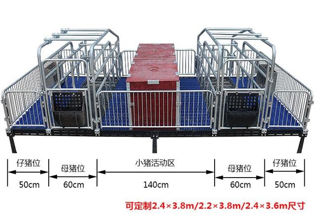 国标2.5热镀锌母猪产床